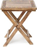 Onlineshoppee CAC Solid Wood End Table (...
