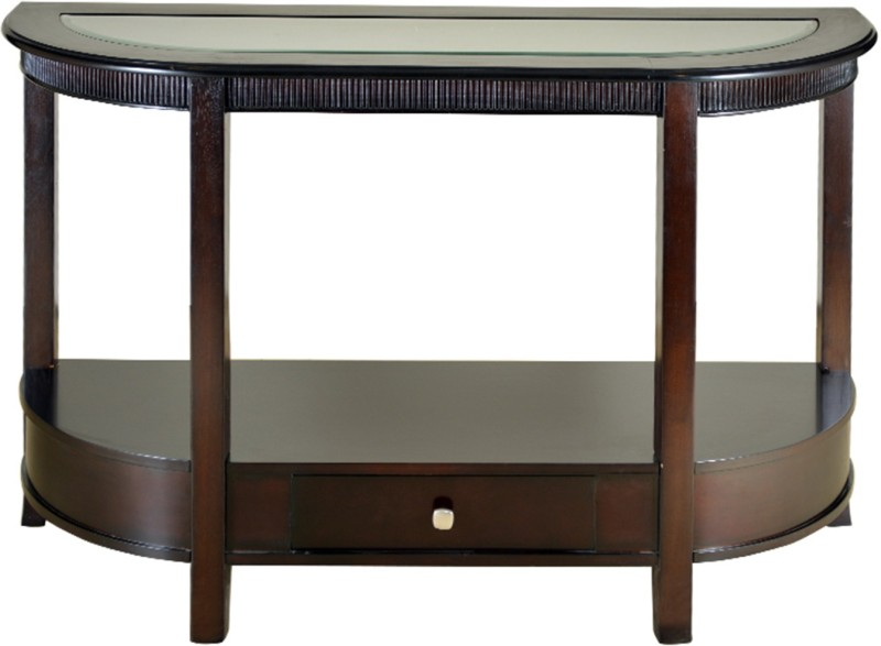 get least price of hometown zina solid wood console table at myleastprice buy zina solidwood side table