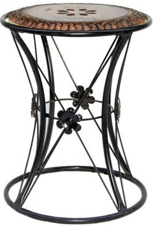 View VAS Collection Home WAZV00132 Metal Side Table(Finish Color - Black) Furniture (VAS Collection Home)