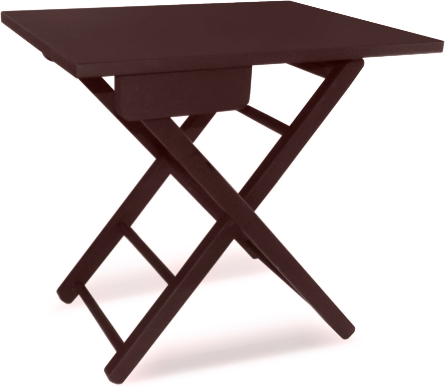 View Colorwood Cosy Foldable Side Table Brown Solid Wood Coffee Table(Finish Color - Brawn) Furniture (Colorwood)