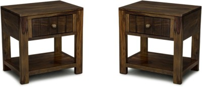 Smart Choice Furniture Rosewood (Sheesham)_JIBS09_Matte finish Solid Wood Bedside Table