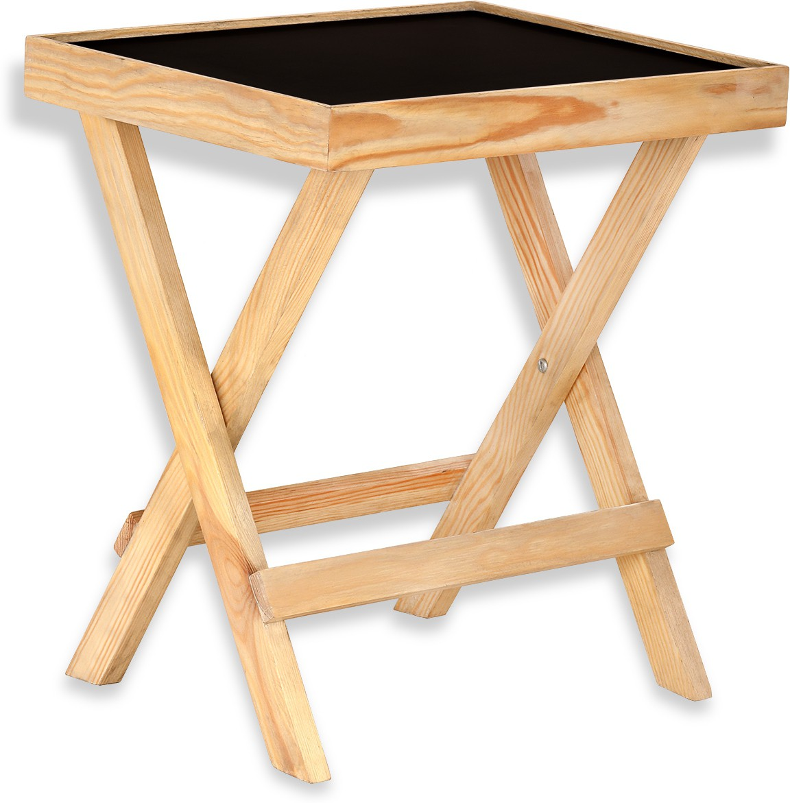 View NETWOOD DESIGNER Solid Wood Side Table(Finish Color - Natural Matte Finish) Furniture (Netwood Designer)