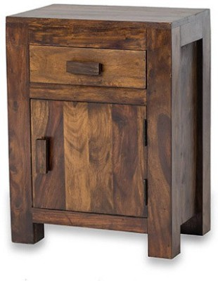 Smart Choice Furniture Rosewood (Sheesham)_JIBS08_Matte finish Solid Wood Bedside Table