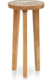 TheArmChair Solid Wood Side Table(Finish Color - Natural)