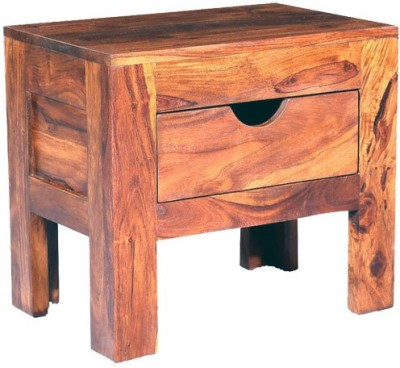 Smart Choice Furniture Rosewood (Sheesham)_JIBS20_Matte finish Solid Wood Bedside Table