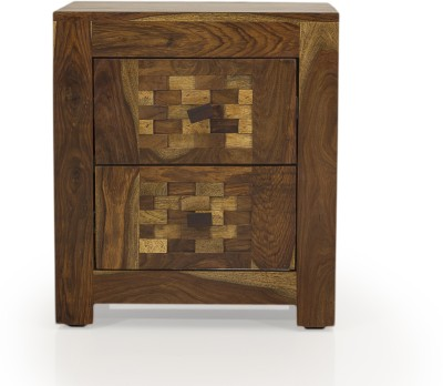 Evok Imporio Solid Wood Bedside Table