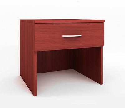 Housefull Engineered Wood Bedside Table(Finish Color - Red)