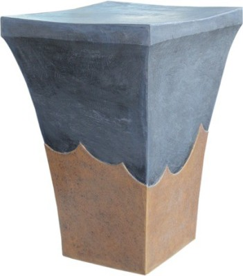 Greymode Black Alai Table Synthetic Fiber Side Table