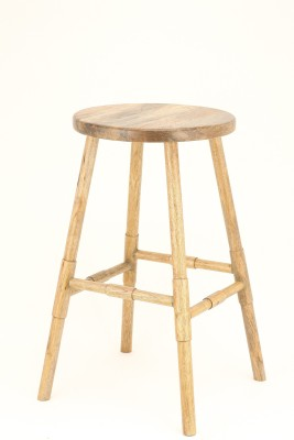 TexturesInc Solid Wood Side Table