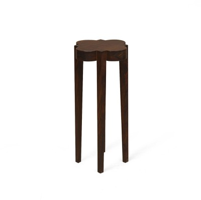 @home by Nilkamal Orchard Solid Wood Side Table