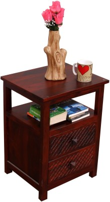 Induscraft Solid Wood Bedside Table