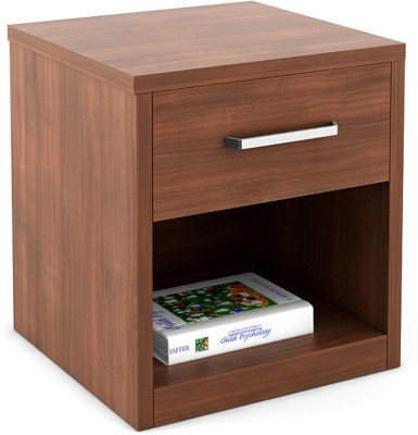CP DECOR Corner Side Table Engineered Wood Bedside Table