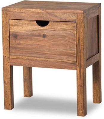 Smart Choice Furniture Rosewood (Sheesham)_JIBS12_Matte finish Solid Wood Bedside Table