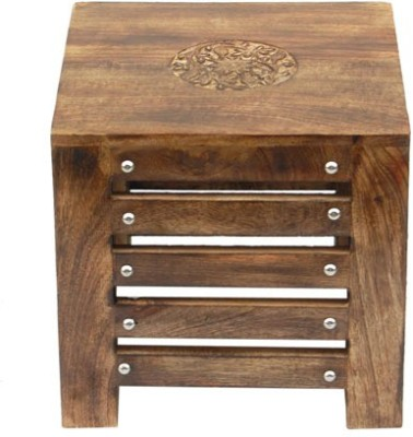 Acme Production A53 Solid Wood Side Table