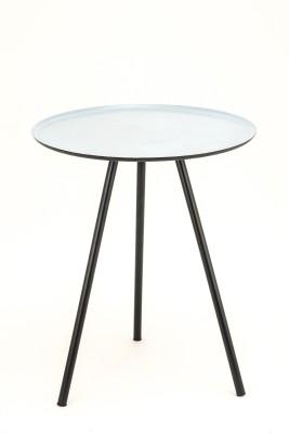 TexturesInc Metal Side Table