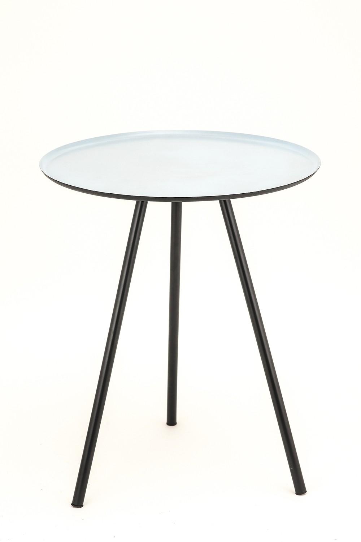 View TexturesInc Metal Side Table(Finish Color - Black) Furniture (TexturesInc)