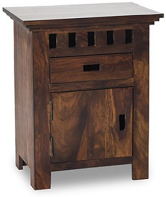 Smart Choice Furniture Rosewood (Sheesham)_JIBS10_Matte finish Solid Wood Bedside Table
