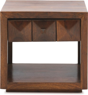 Evok Solid Wood Bedside Table