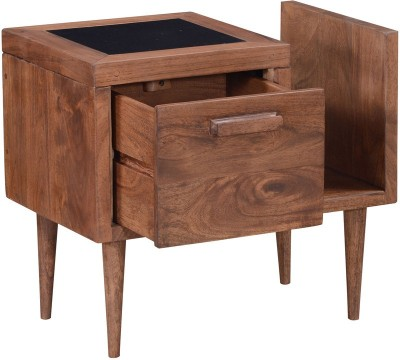 Smarvvv Productions Engineered Wood Side Table