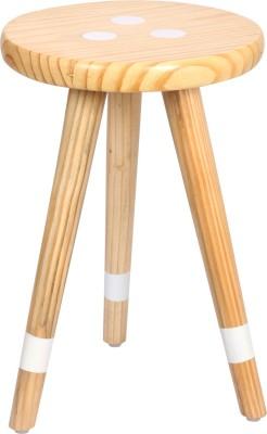 Smalshop Aqua Mint- Three Legged Solid Wood Corner Table