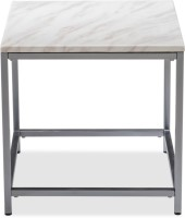 Durian ALSTER/ST/A Stone Side Table(Finish Color - Cream)