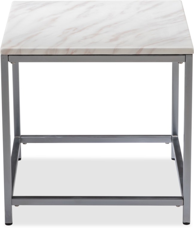 Durian ALSTER/ST/A Stone Side Table