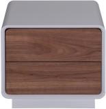 Evok Peonies Engineered Wood End Table (...