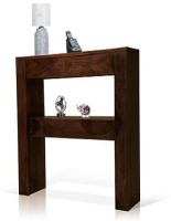 Ringabell Lower Shelve Solid Wood End Table(Finish Color - Mahogany & Teak)