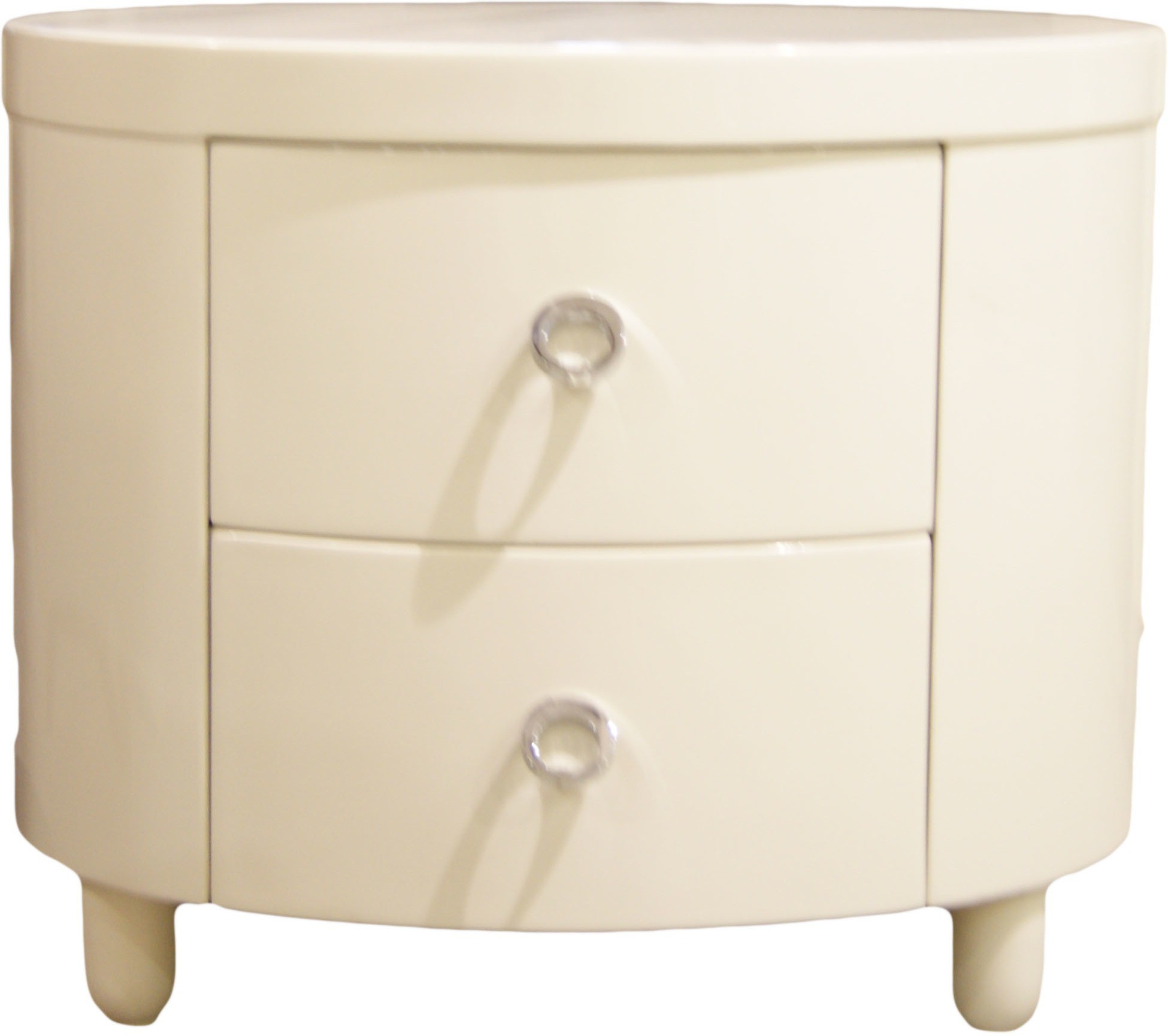 View Kp Wood Krafts c 088 Engineered Wood Bedside Table(Finish Color - Off white) Furniture (Kp Wood Krafts)