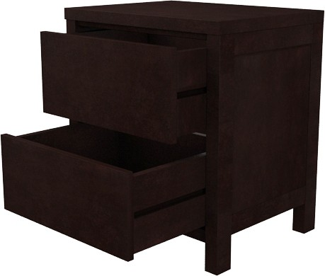 View Amaani Furnture's Solid Wood Bedside Table(Finish Color - Melted truffle) Furniture (Amaani Furniture's)
