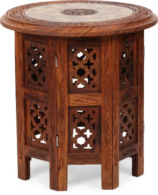 Decorhand Solid Wood Side Table