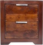 Housefull Solid Wood Bedside Table (Fini...