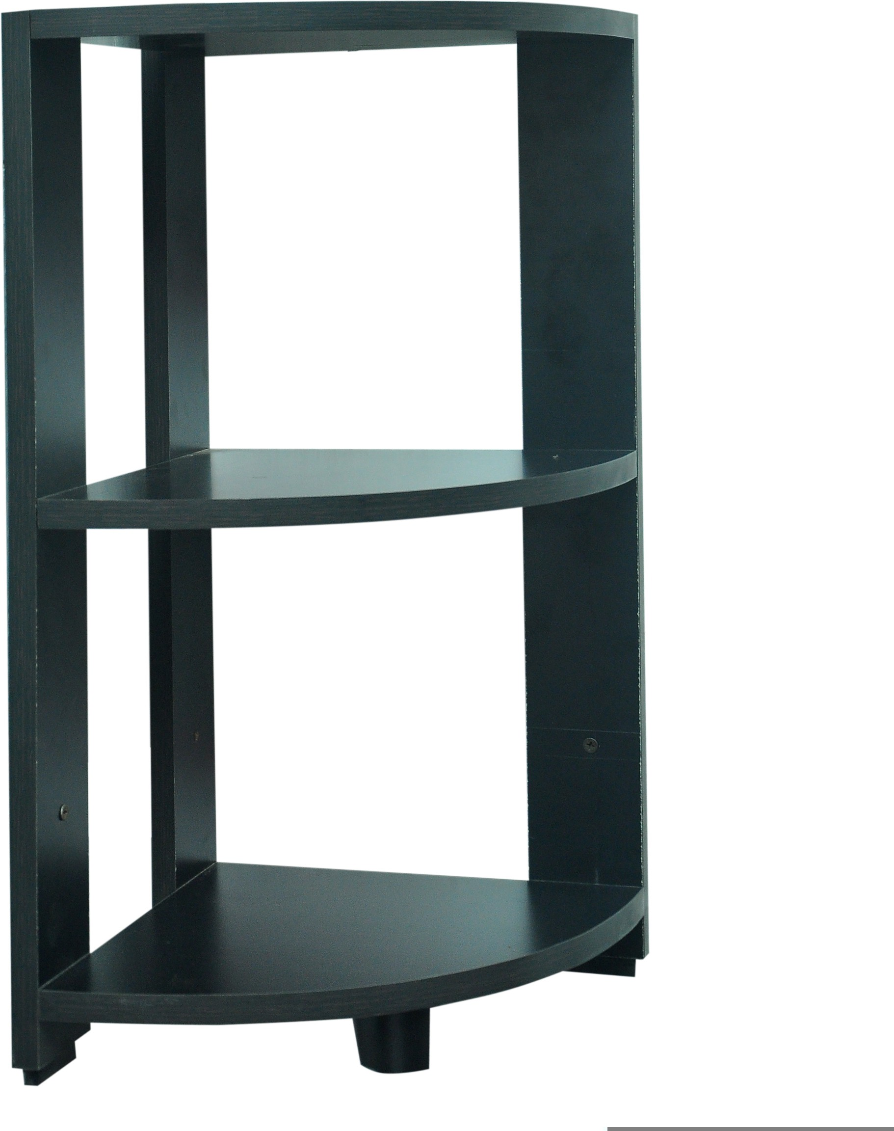 View SS Modulars Ssm Engineered Wood Corner Table(Finish Color - Black) Furniture (SS Modulars)
