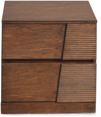 @home by Nilkamal Everest Solid Wood Bedside Table