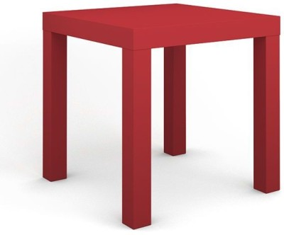 Housefull Engineered Wood Side Table(Finish Color - Red)