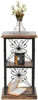 Onlineshoppee AFR1031 Solid Wood End Table
