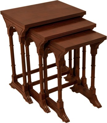 ISC Nesting Table Solid Wood Corner Table