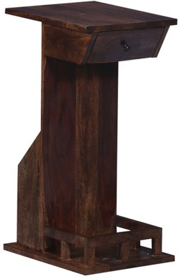 Ringabell Vinza Solid Wood End Table(Finish Color - Provincial Teak)