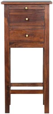 HomeTown Hope Solid Wood Corner Table