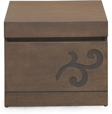 @home by Nilkamal Harvest Solid Wood Bedside Table