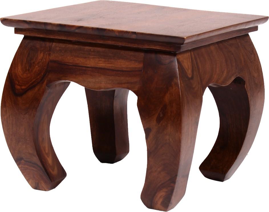 View Blueginger Solid Wood Bedside Table(Finish Color - Walnut Brown) Furniture (Blueginger)