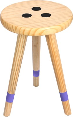 Smalshop Solid Wood Corner Table