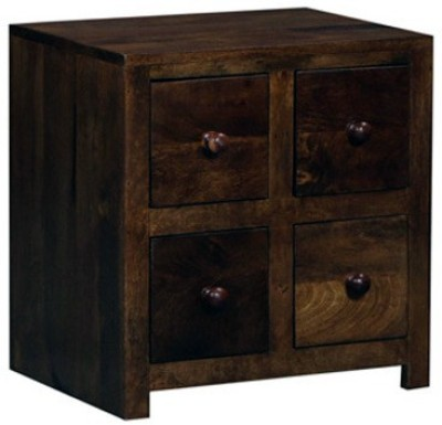 Smart Choice Furniture Rosewood (Sheesham)_JIBS07_Matte finish Solid Wood Bedside Table