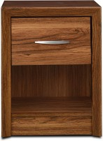 HomeTown Stark Engineered Wood Bedside Table(Finish Color - Walnut)