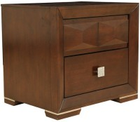 HomeTown Amelia Night Engineered Wood Side Table(Finish Color - Brown)