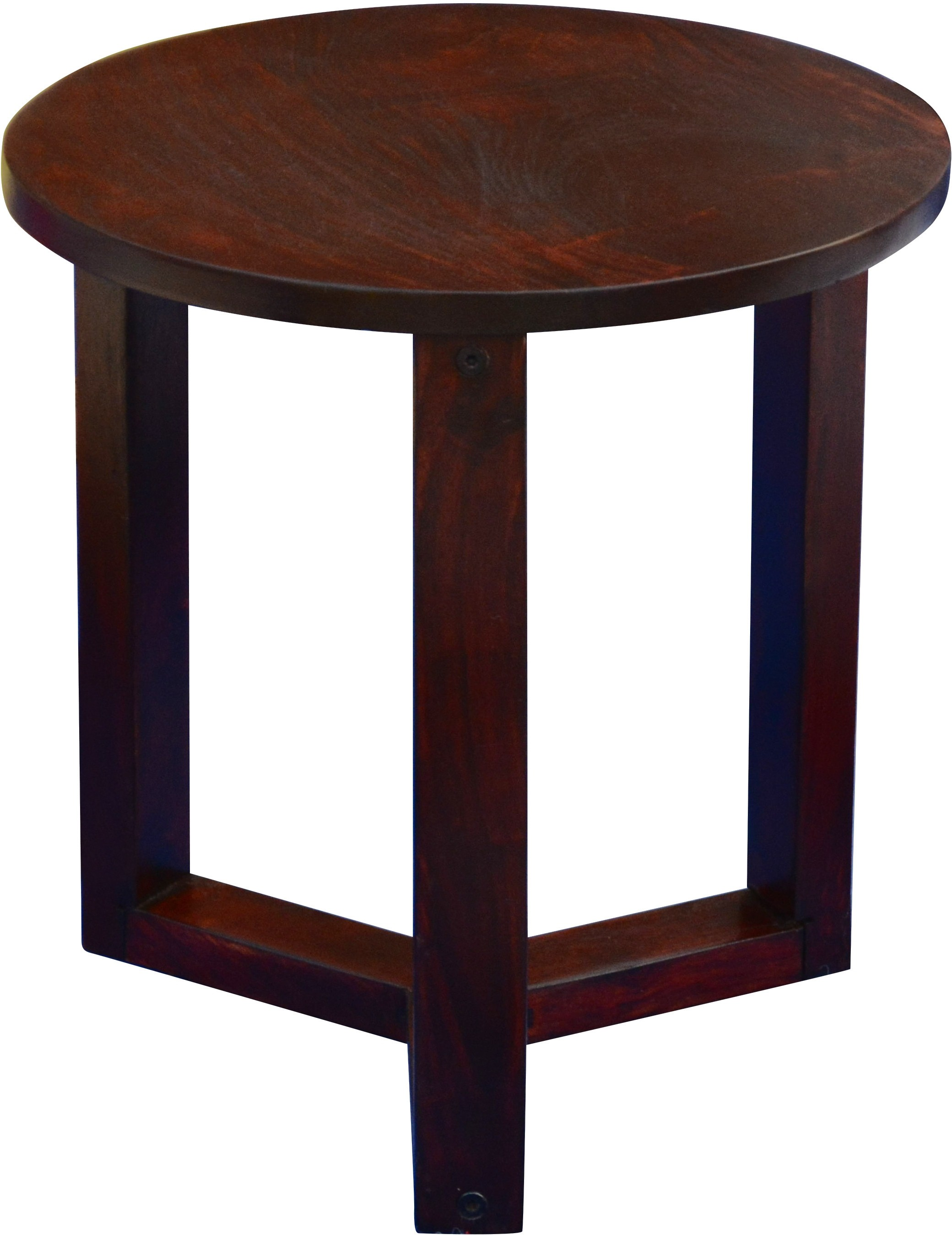 View Mubell Sheesham Luno Walnut Small Solid Wood Side Table(Finish Color - Walnut Brown) Furniture (Mubell)