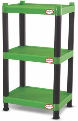 Surprise Heavy Duty Mini Rectangle Shelf Plastic Bedside Table