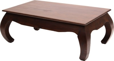 Blueginger Solid Wood Corner Table