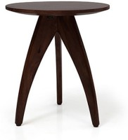 Urban Ladder Herbert Solid Wood Side Table(Finish Color - Mahogany)