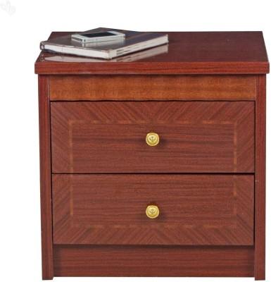 Royal Oak Rose Engineered Wood Bedside Table